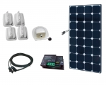 Caravan-Kit Solar 100W SunPeak R Votronic Duo MPP