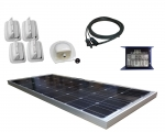 Caravan-Kit Solar 100W uni Duo