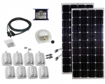 Caravan-Kit Solar 200W uni Duo